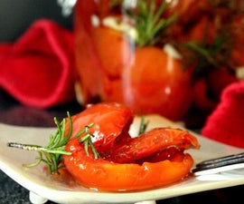 Semi dried Tomatoes in Olive Oil