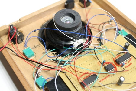 Attaching the Circuity Board and Lid
