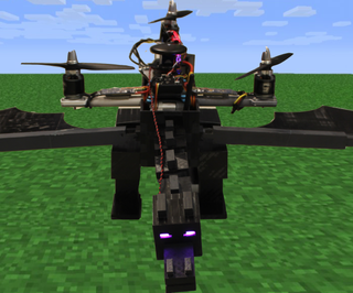 Real-Life Flying Ender Dragon Drone