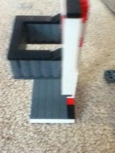 Lego Basketball Hoop and Guy