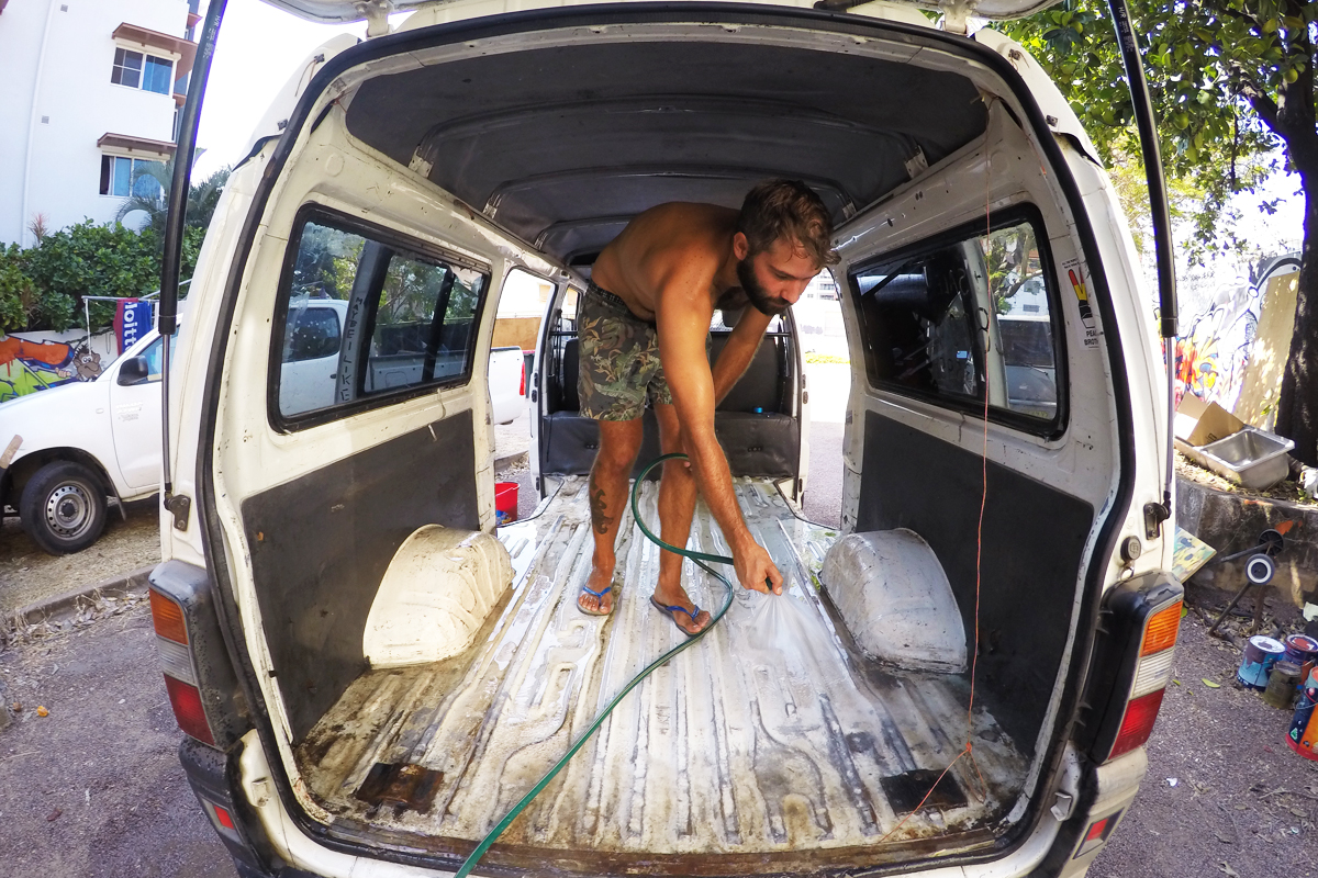 Picture of Clean the Van.