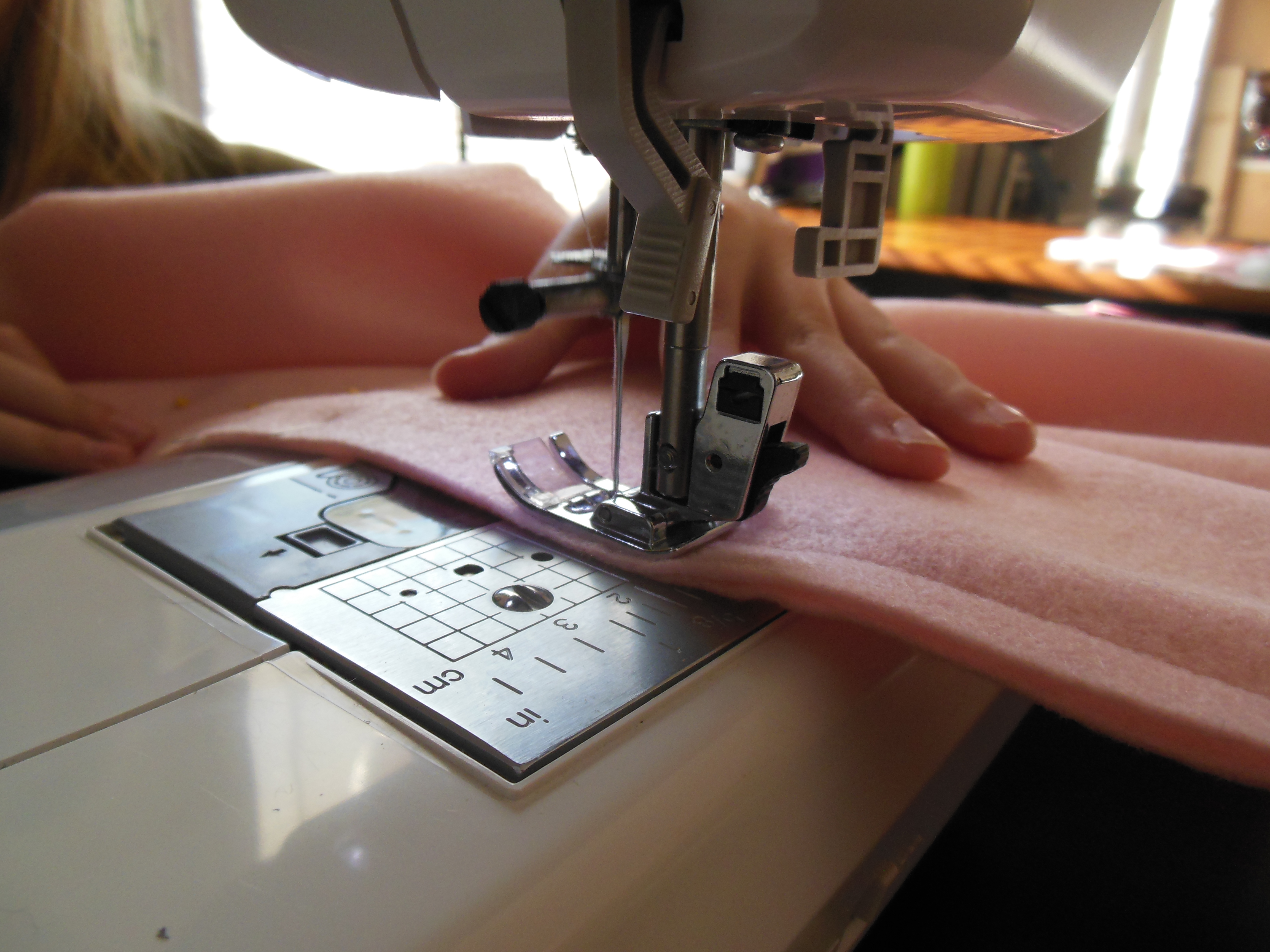 Picture of Pin and Sew the Left Side