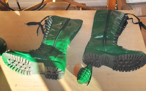 Operation Green - Part 6 - Spray Paint EVERYTHING Green