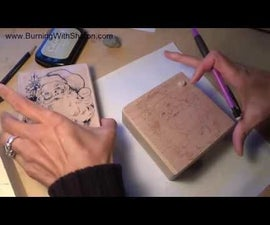 Pyrography: Rubber Stamping and Woodburning