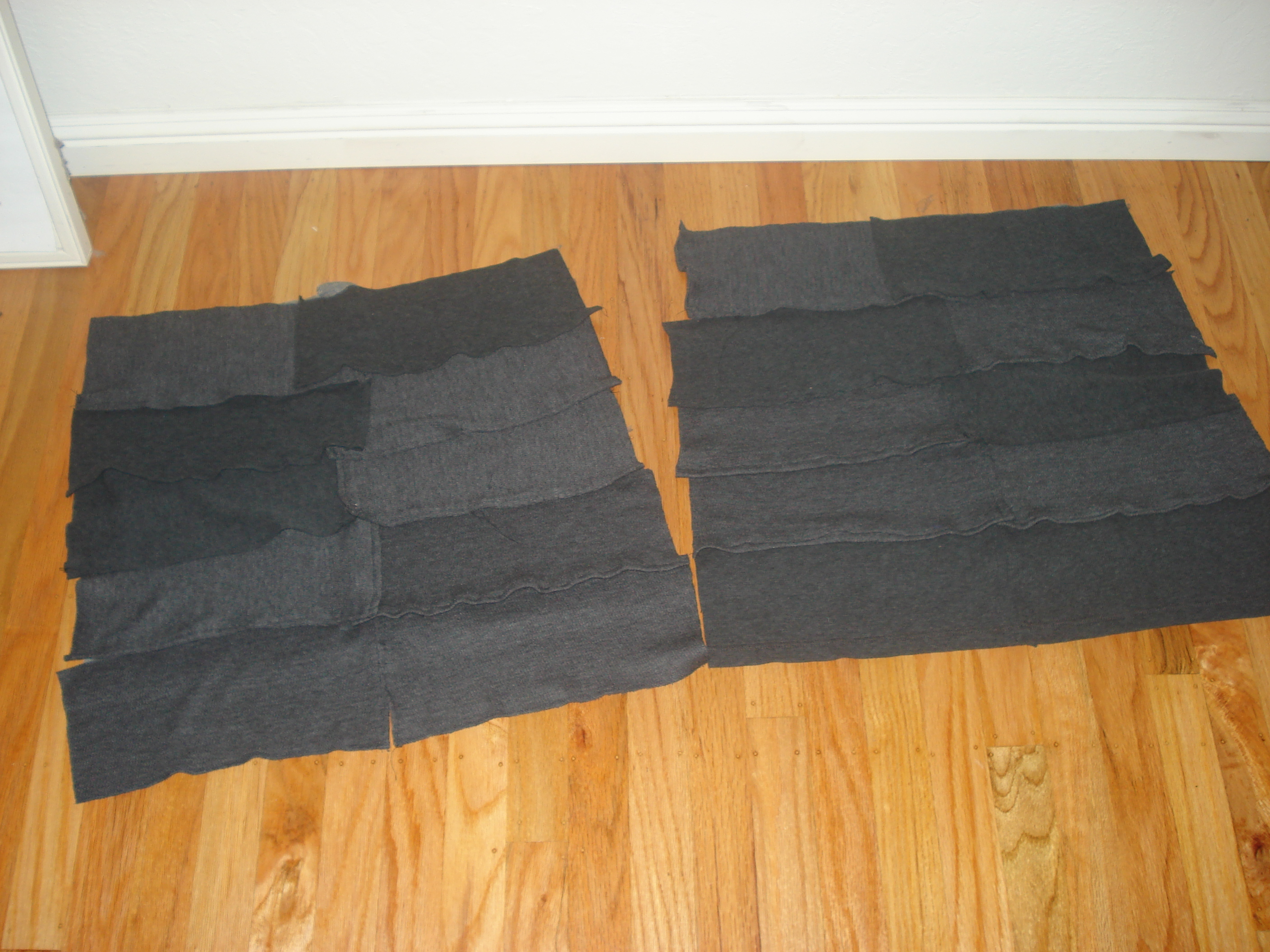 Picture of Create Ruffles and Attach to Skirt