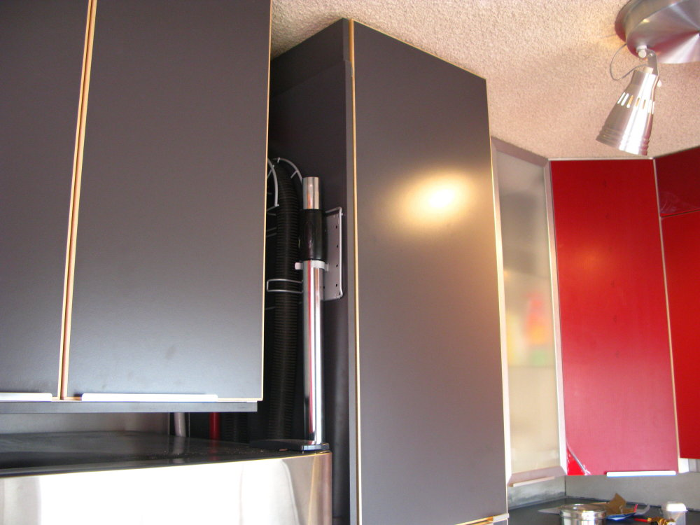 Picture of How to Make Use of Narrow Spaces Leftover in the Kitchen...