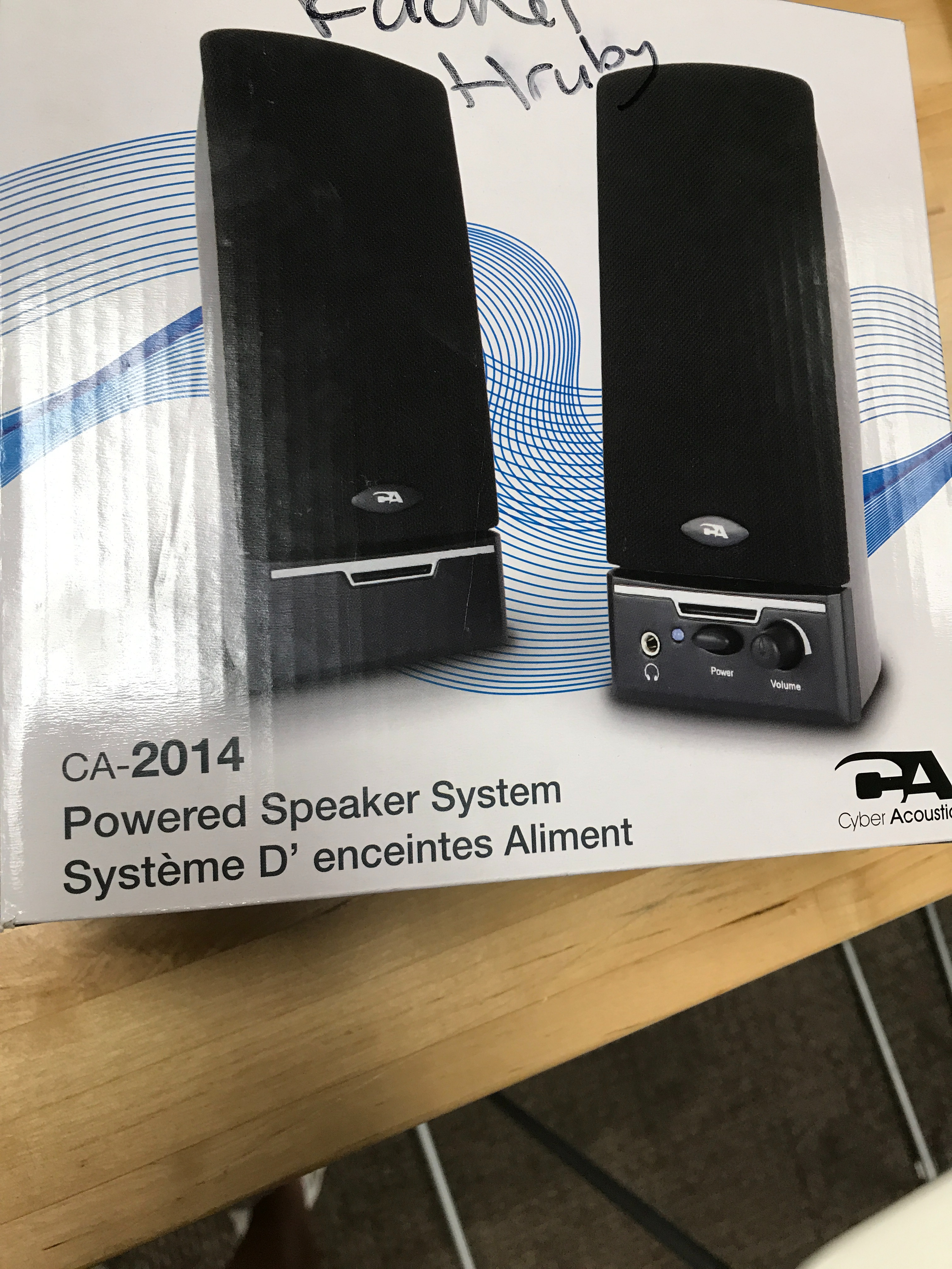 Picture of Acquire a Set of Speakers That You Can Disassemble