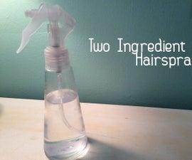 Two Ingredient Hairspray
