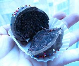 Chocolate Cake Truffles