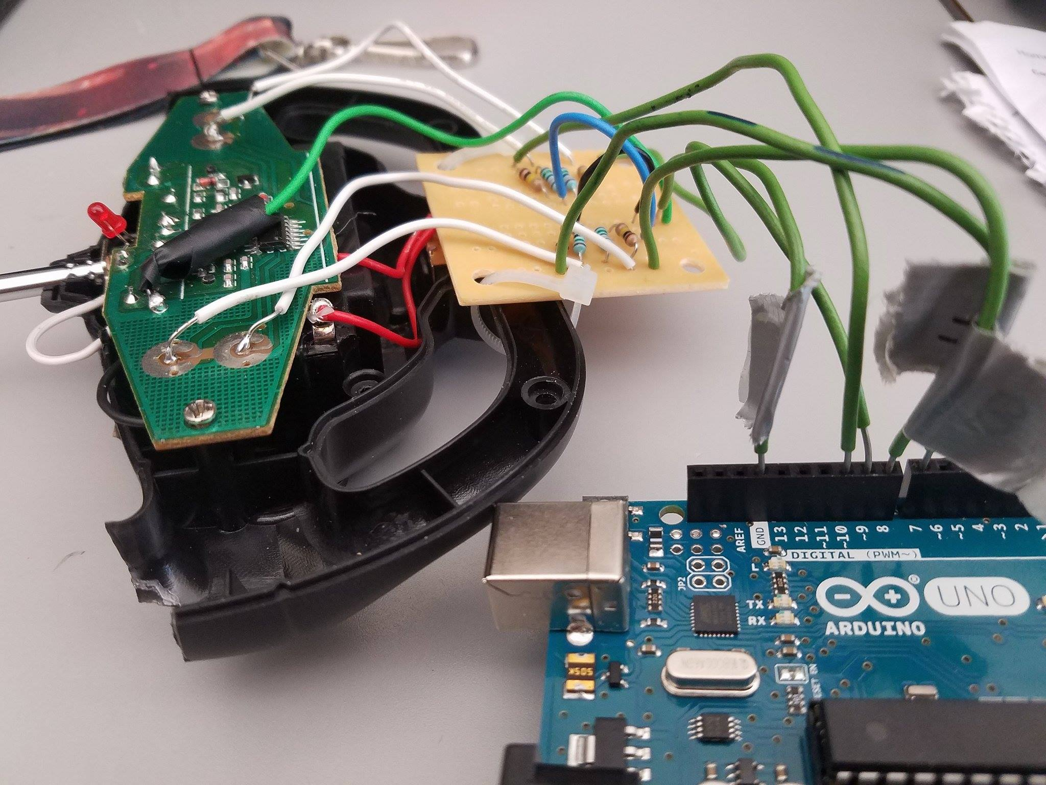 Picture of Connecting the RC Controller to the Arduino