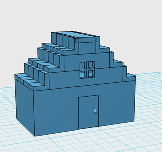 Simple House Design In 123d Design 6 Steps Instructables