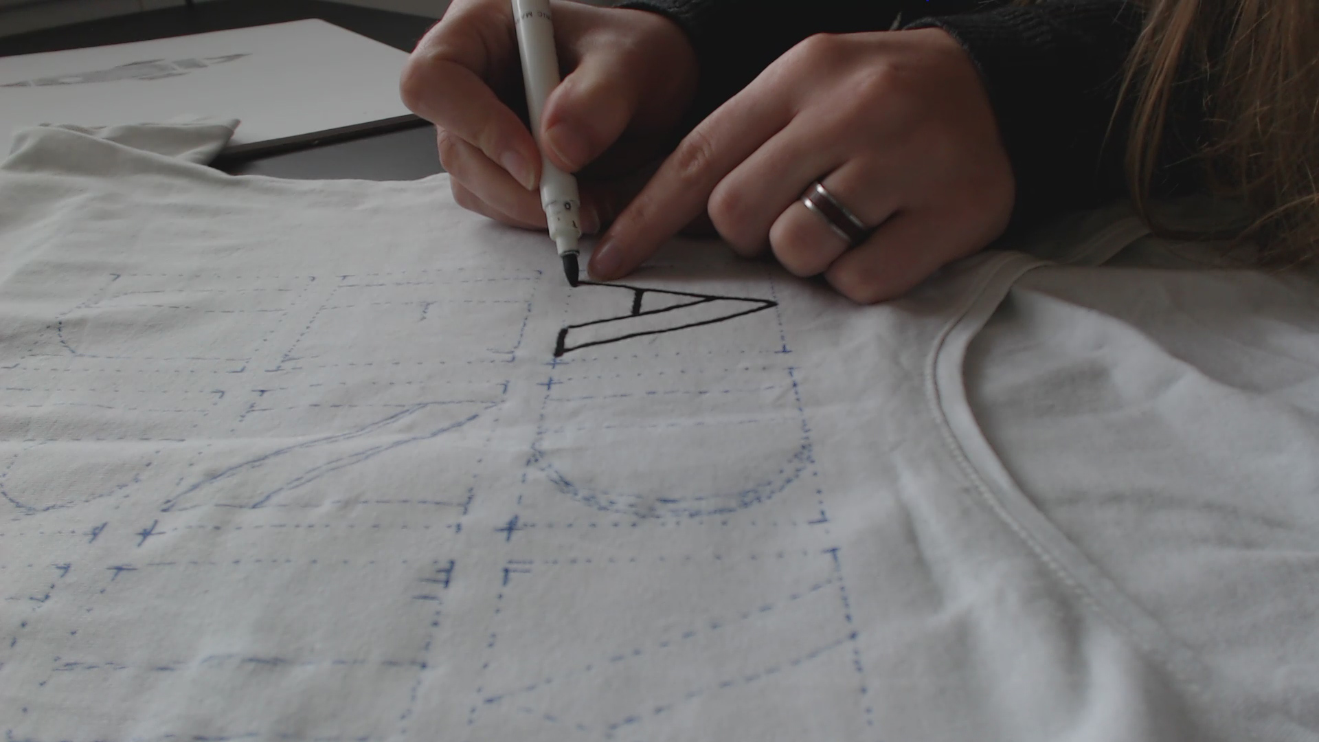 Picture of Draw With a Fabric Marker