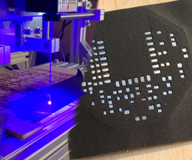 SMD Soldering Stencils Made of Tape