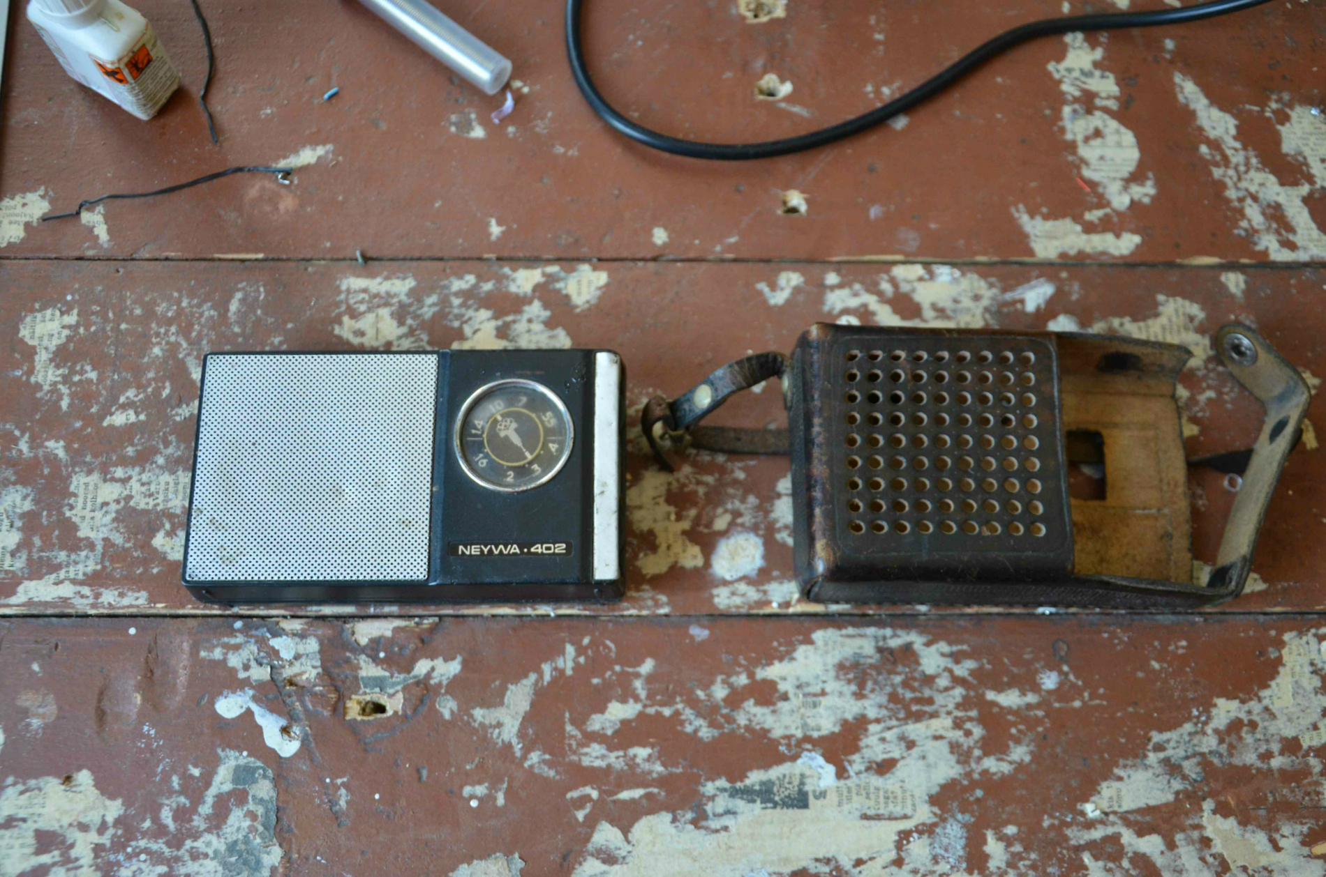 Picture of Radio Disassembly