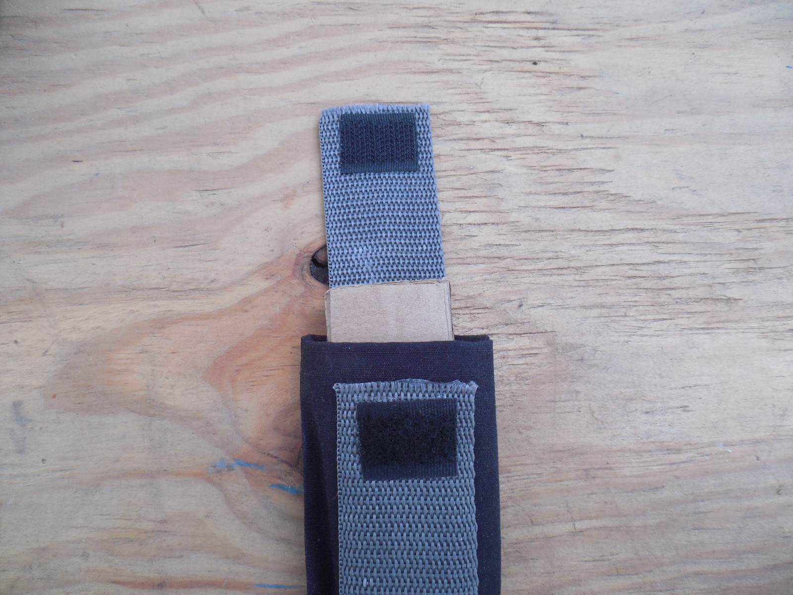 Picture of Adding Support and Velcro Closure