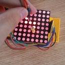 Arduino - Dot Matrix Screen Writing LED