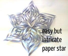 Remixed Paper Spiral Star