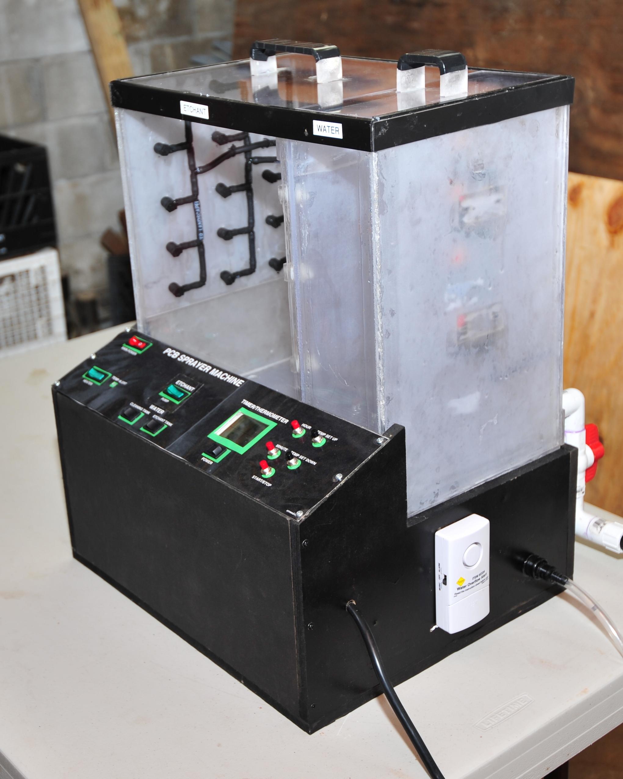 Picture of Printed Circuit Board (PCB) Sprayer Machine