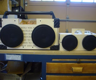 Homemade Boombox Collection