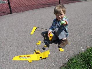 Turn an RC Plane Into an RC Boat