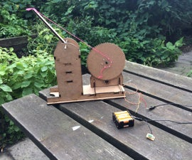 DIY Lasercut Geared Crane