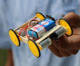 How to Make Remote Control Car at Home in Easy Way - DIY Wireless RC CAR