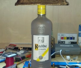 Another bottle lamp.