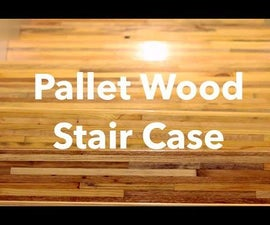 Pallet Wood Stair Treads