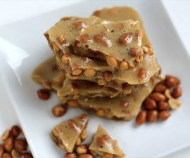 Peanut Brittle- Microwave Version, Done in less than 10 minutes!