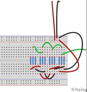 Set Up Your Breadboard for the LED Strips