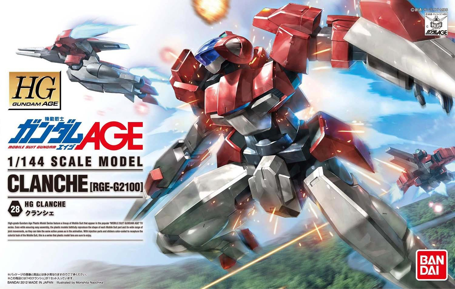 Picture of HG RGE-G2100 Clanche: Step-by-Step Transformation