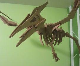 Cardboard Dinosaur Puzzle