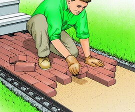 Build a Brick Walkway
