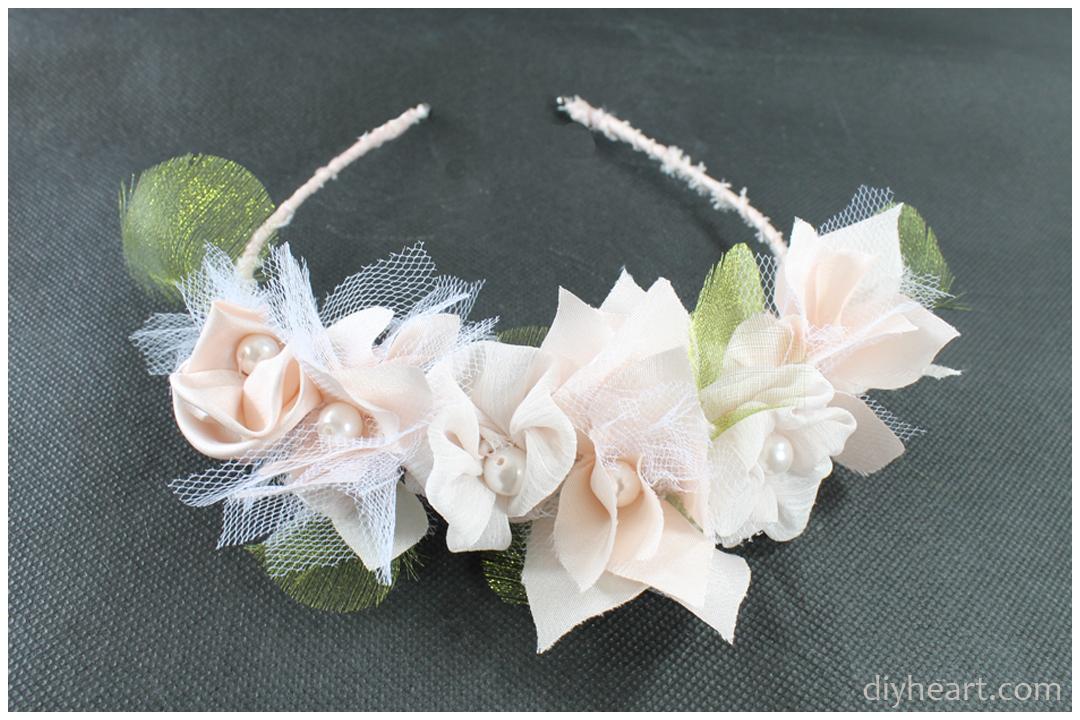 Picture of Beautiful Rose Headband