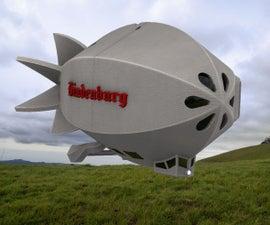 Hindenburg the Steampunk Mp3 Player & Speaker & Lamp