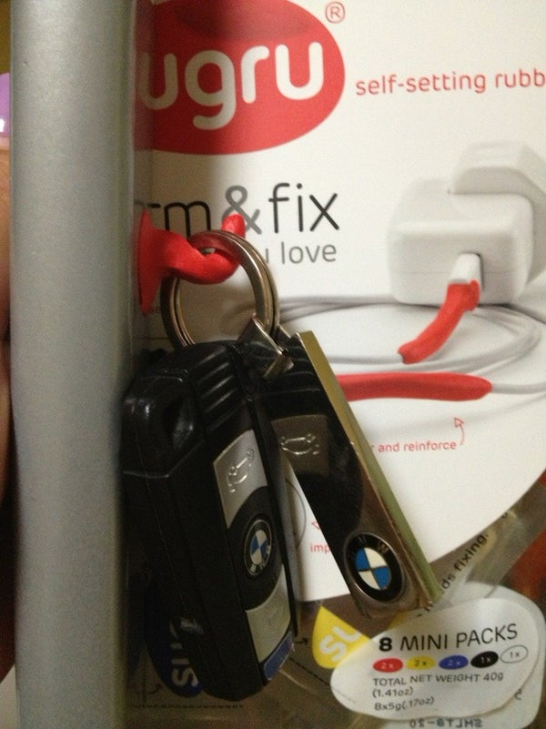 Sugru Makes a Hook