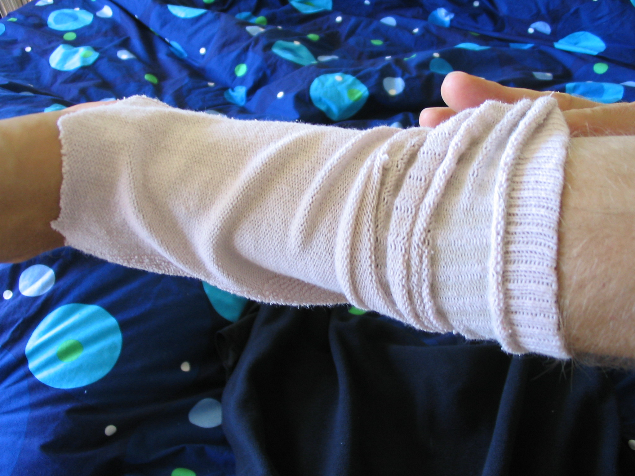 Picture of Apply Your Sock Bandage