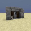 Smallest Machine Gun Possible in Minecraft