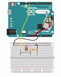 Circuit Diagram & Breadboard & Code
