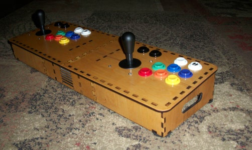Tabletop Arcade Mame Box for Raspberry Pi