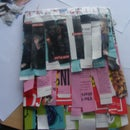 """Frill Up"" Your Notebook! Magazine DIY"