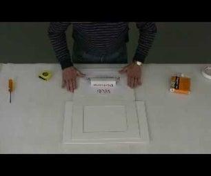 Hinging Art Into a Mat
