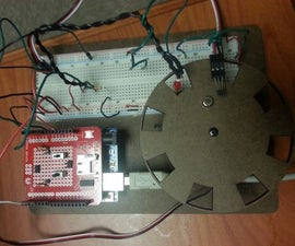 Aliasing Demonstration Using an Encoder Wheel