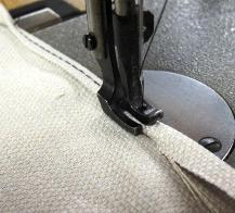 Picture of Sew a Hem Around the Bottom Piece