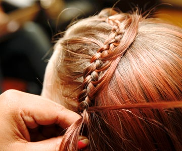 Start by Doing a Normal Waterfall Braid