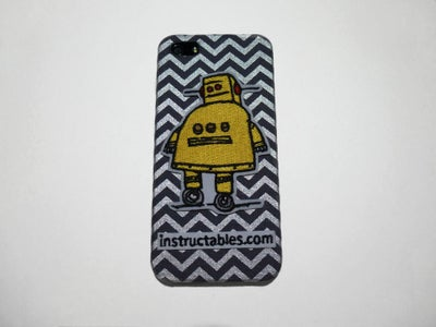 DIY Instructables Robot IPhone Case