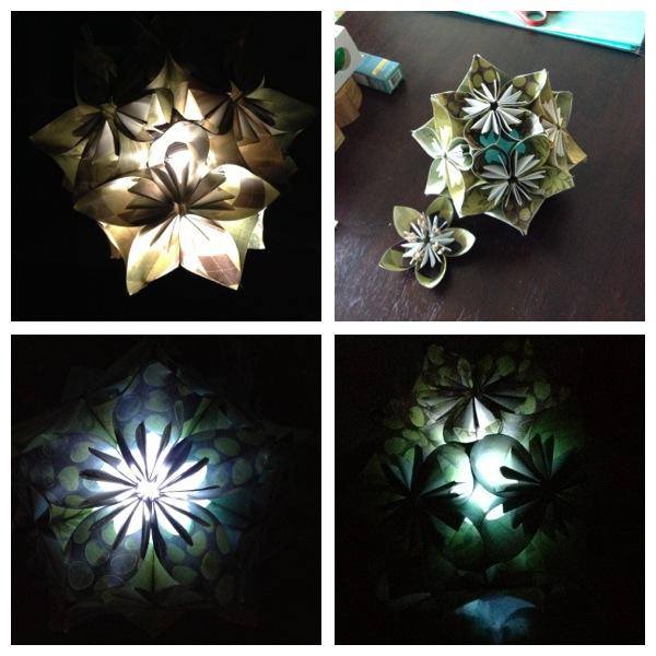 Picture of Kusudama Light (Chandelier/Centerpiece)