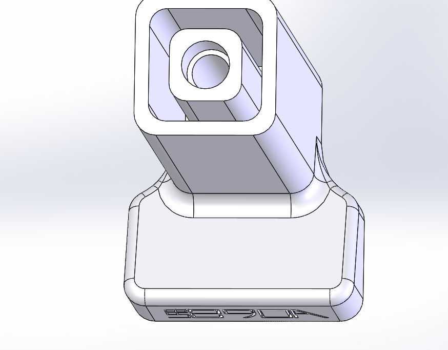 Picture of Making the Adapter Stand on Its Own One Foot