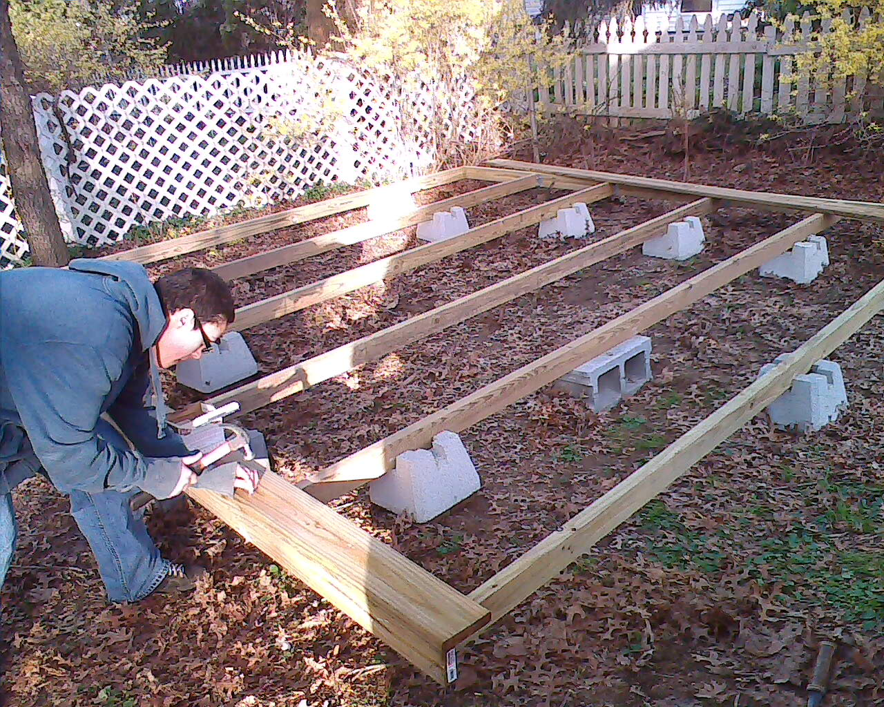 - How To Build A Floating Deck: 3 Steps