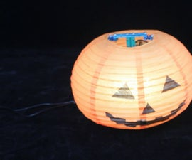 Build The Dancing Pumpkin Lantern